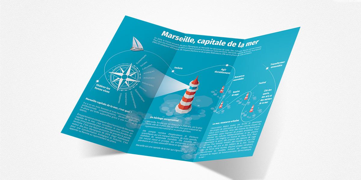 Brochure Marseille Capitale de la Mer