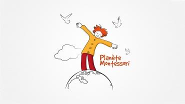 Logo Planète Montessori