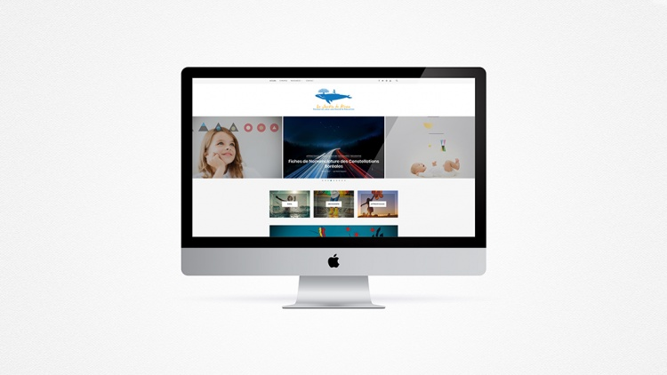 Webdesign - Le Jardin de Kiran
