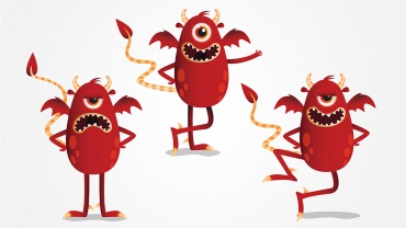 Mascotte Bob le microbe