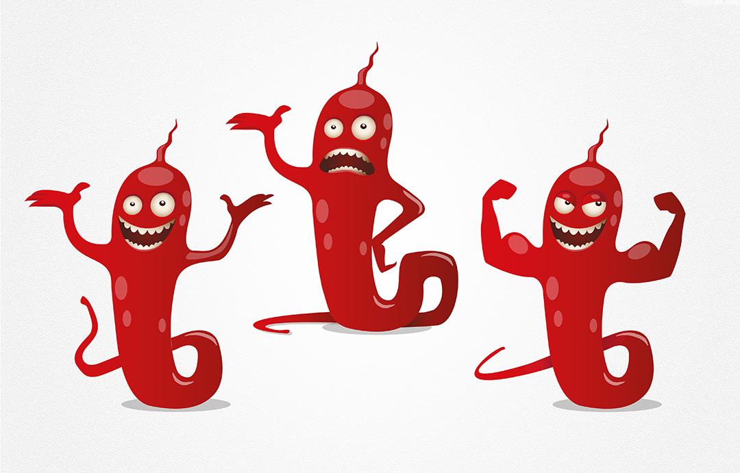 Terry la bactérie – Mascotte Cpias